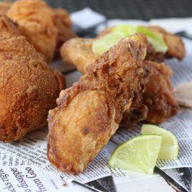 Pollo frito ¡Por Cuba libre!