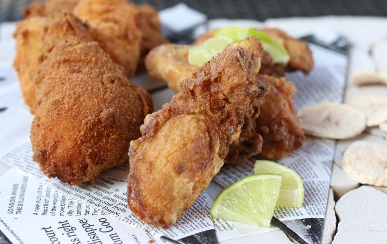Pollo fritto in evidenza