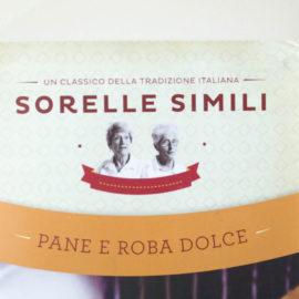 Il libro del mese. Sorelle Simili: Pane e roba dolce.